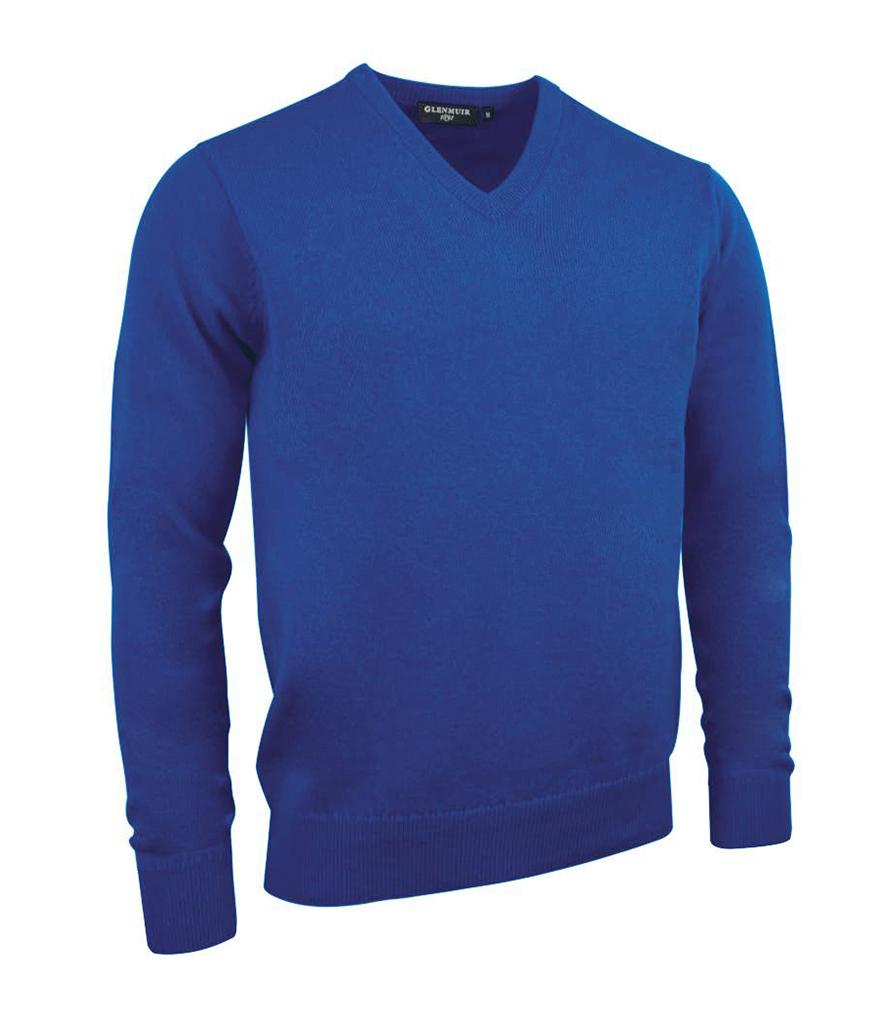 Glenmuir V Neck Lambswool Sweater