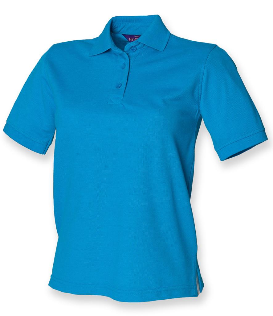 Henbury Ladies Poly/Cotton Piqué Polo Shirt