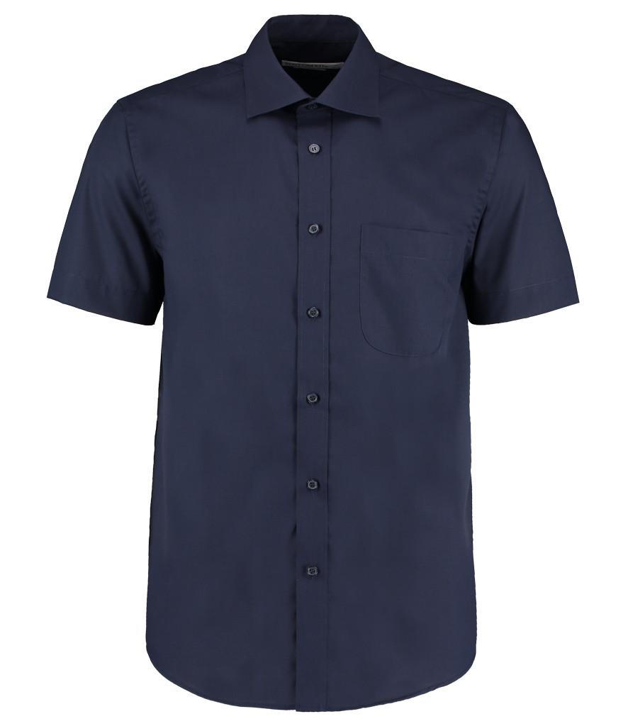 Kustom Kit Short Sleeve Classic Fit Business Shirt