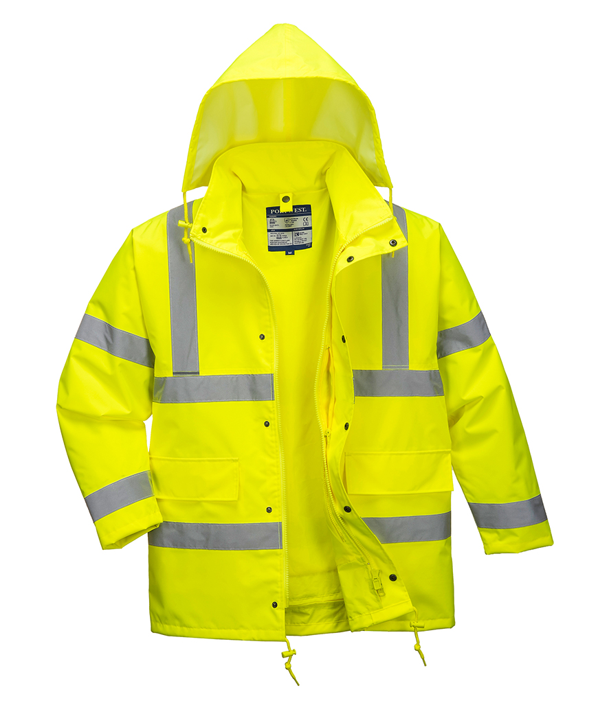 Portwest Hi-Vis 4-in-1 Traffic Jacket