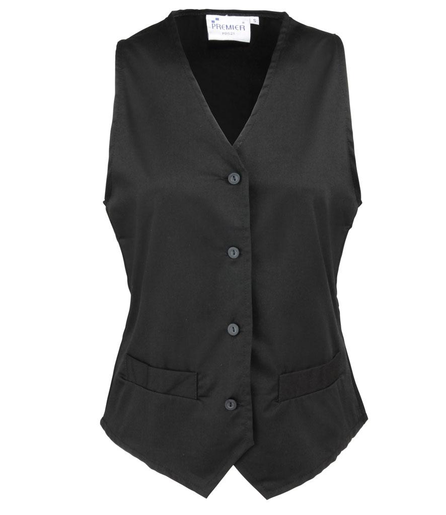 Premier Ladies Hospitality Waistcoat