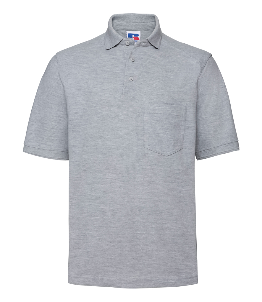 Russell Heavy Duty Piqué Polo Shirt