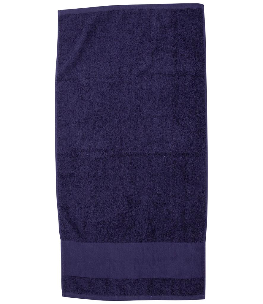 Towel City Printable Border Hand Towel