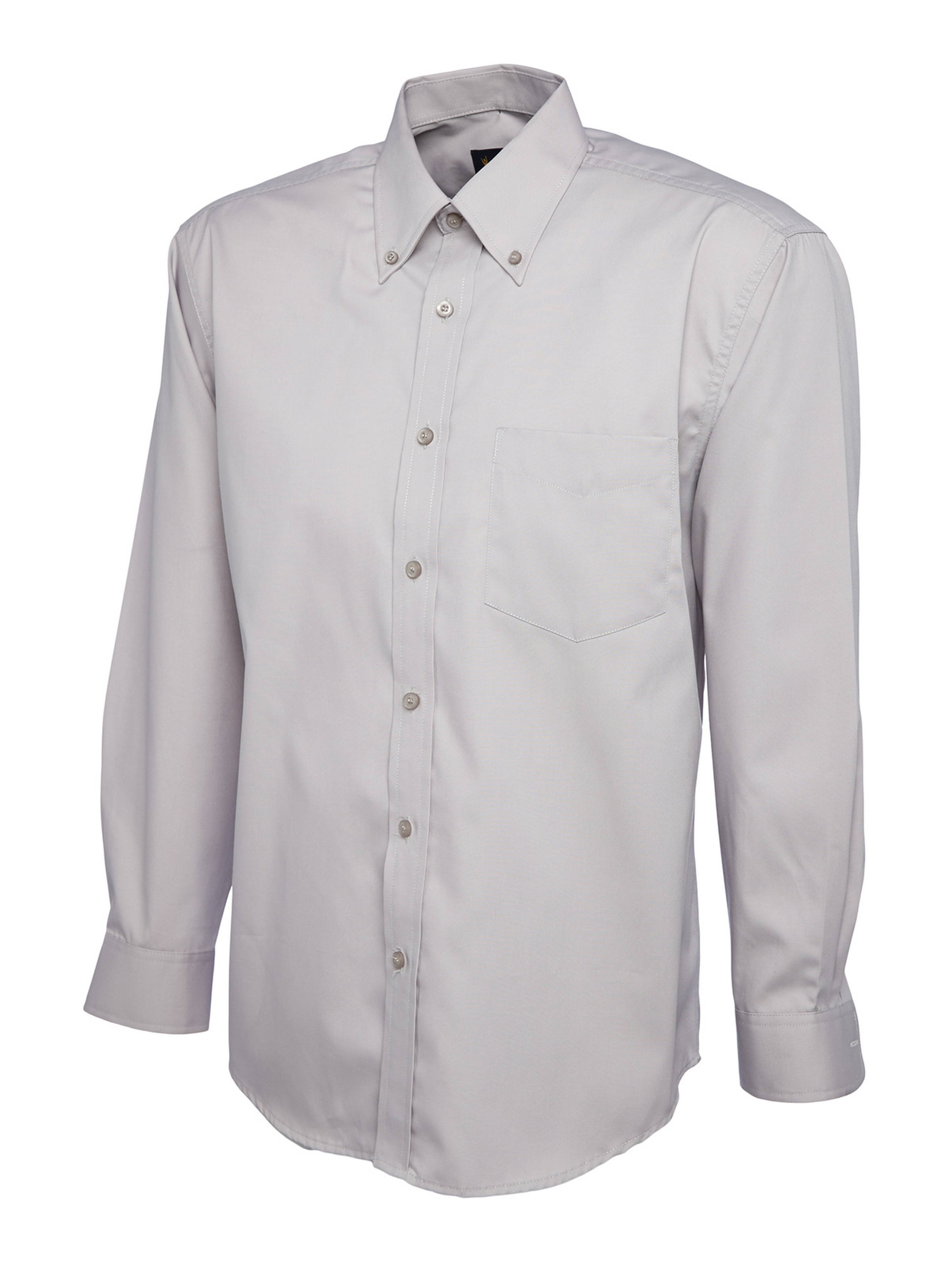 Uneek Mens Pinpoint Oxford Full Sleeve Shirt