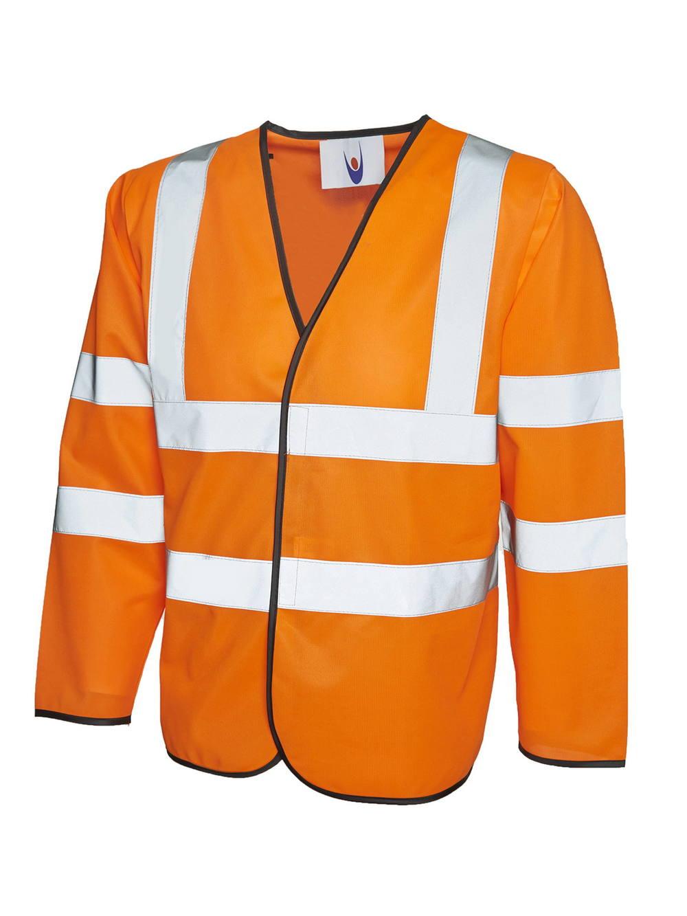 Uneek Long Sleeve Safety Waist Coat